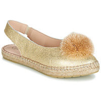 Zapatos Mujer Bailarinas-manoletinas Betty London JIKOTI Oro