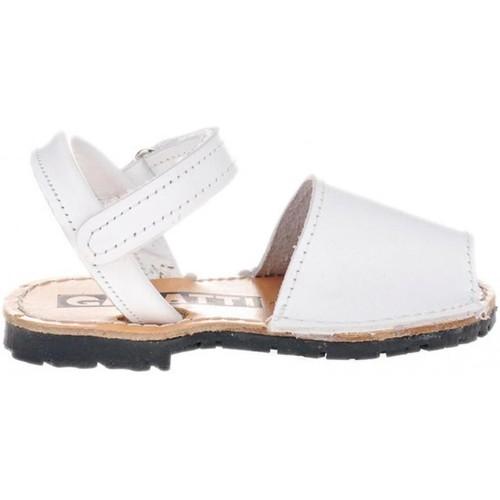 Zapatos Niños Sandalias Garatti PR0051 Blanco