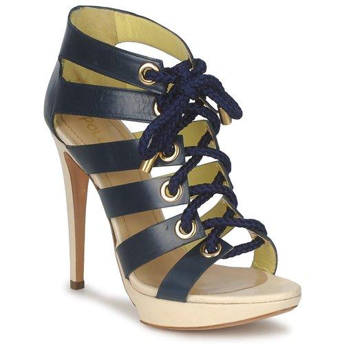 Cómodo y bien parecido Pollini PA1609CC1V Azul - Envío gratis Nueva promoción - Zapatos Sandalias Mujer  Azul
