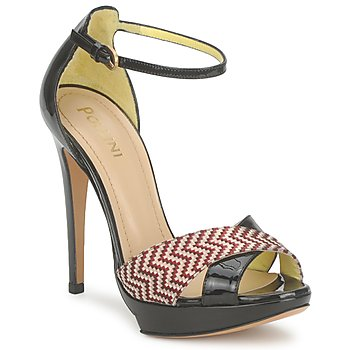 Zapatos Mujer Sandalias Pollini PA1638CC1V Rojo