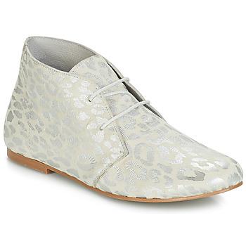 Zapatos Mujer Botas de caña baja Ippon Vintage HYP ARY Blanco / Plata