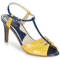 Zapatos Mujer Sandalias Ippon Vintage DROP BACK Marino / Amarillo