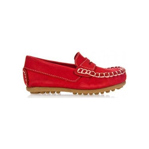 Zapatos Niño Mocasín Garatti PR0055 Rojo