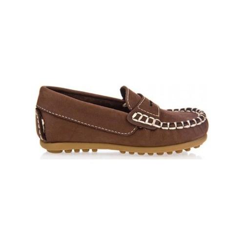 Zapatos Niño Mocasín Garatti PR0055 Marr?n