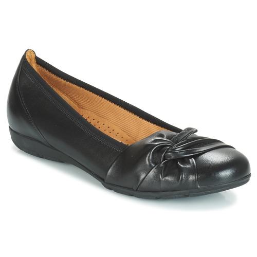 Gabor MATILDA Negro - Envío gratis | ! - Zapatos Bailarinas Mujer