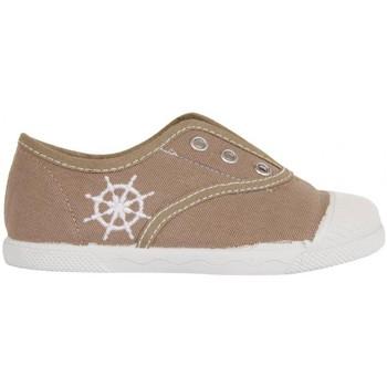 Zapatos Niños Zapatillas bajas Cotton Club CC0001 Beige