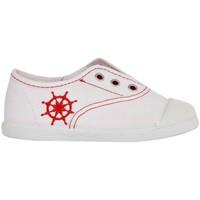 Zapatos Niños Zapatillas bajas Cotton Club CC0001 Blanco