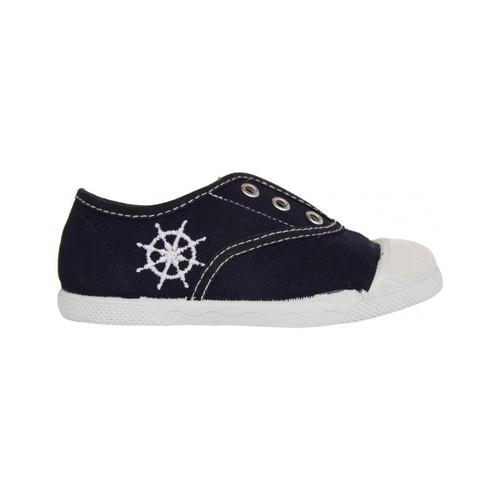 Zapatos Niños Zapatillas bajas Cotton Club CC0001 Azul