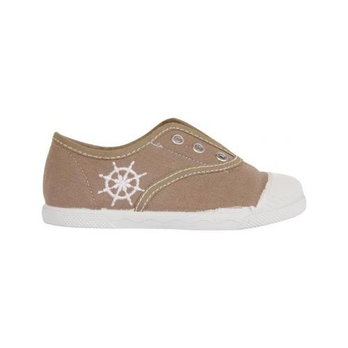 Zapatos Niños Zapatillas bajas Cotton Club CC0002 Beige
