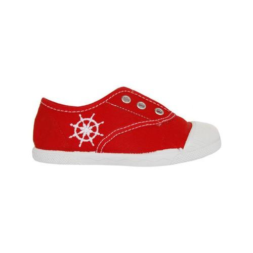 Zapatos Niños Zapatillas bajas Cotton Club CC0002 Rojo