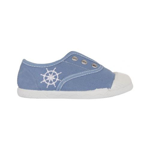 Zapatos Niños Zapatillas bajas Cotton Club CC0002 Azul