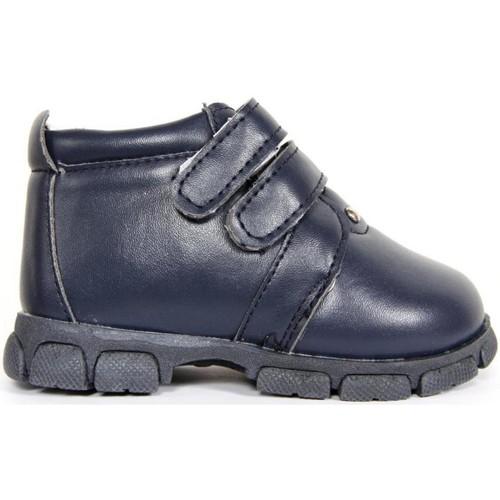 Zapatos Niño Botas de caña baja Happy Bee B155890-B1153 Azul