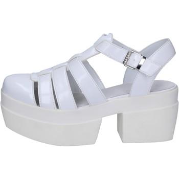 Zapatos Mujer Sandalias Cult sandalias blanco cuero BT539 blanco