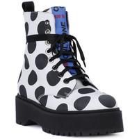 Zapatos Hombre Botas de caña baja At Go GO  BIG POIS NERO Bianco