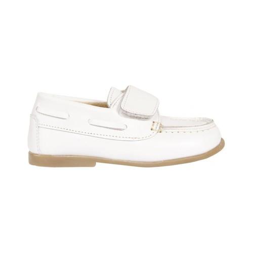 Zapatos Niño Zapatos náuticos Garatti PR0049 Blanco