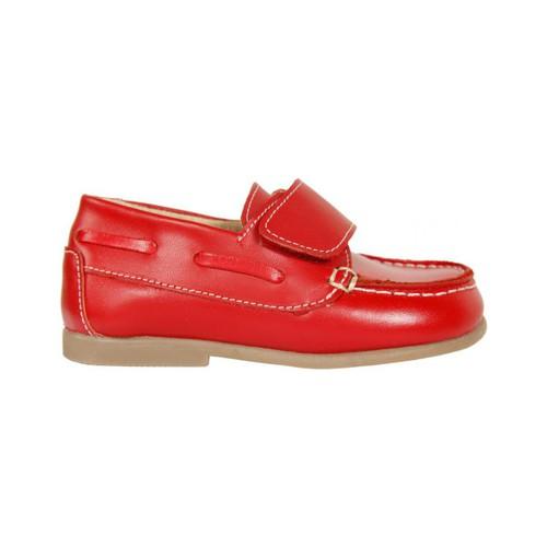 Zapatos Niño Zapatos náuticos Garatti PR0049 Rojo