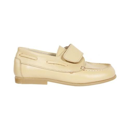 Zapatos Niño Zapatos náuticos Garatti AN0071 Beige