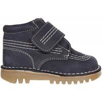 Zapatos Niño Botas de caña baja Garatti PR0045 Azul