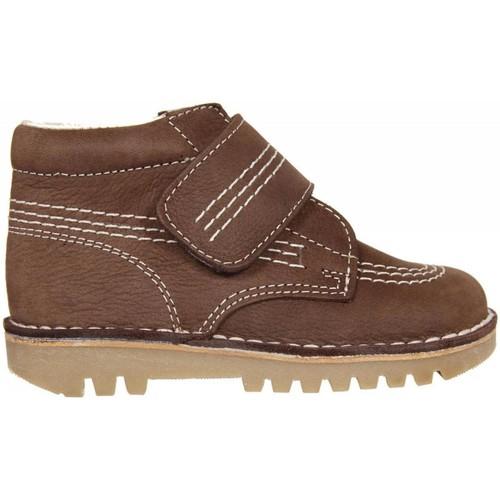 Zapatos Niño Botas de caña baja Garatti PR0045 Marr?n