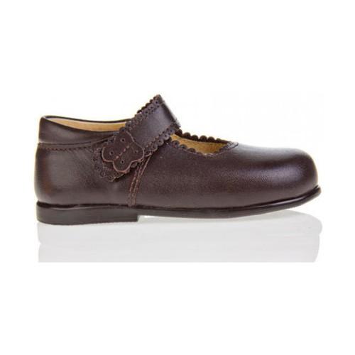 Zapatos Niña Bailarinas-manoletinas Garatti PR0043 Marr?n