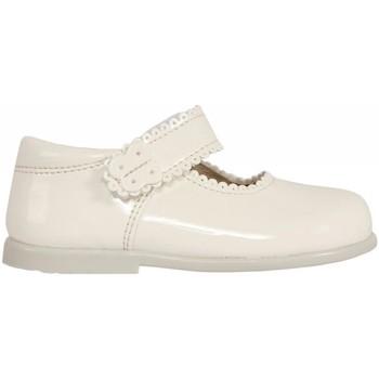 Zapatos Niña Bailarinas-manoletinas Garatti PR0043 Hueso