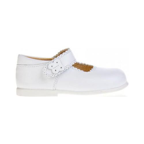 Zapatos Niña Bailarinas-manoletinas Garatti PR0043 Blanco