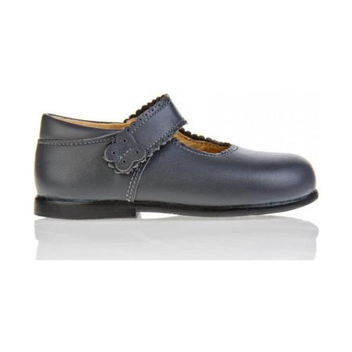 Zapatos Niña Bailarinas-manoletinas Garatti PR0043 Gris