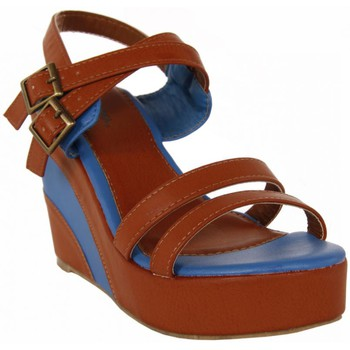 Zapatos Mujer Sandalias Top Way B040860-B7200 Marrón