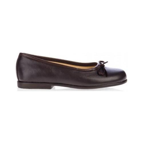 Zapatos Niña Bailarinas-manoletinas Garatti AN0069 Marr?n