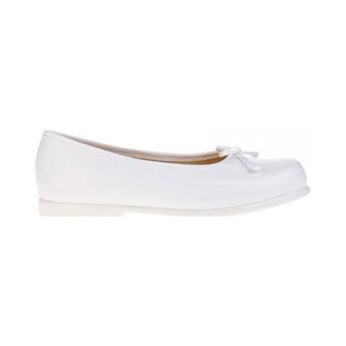 Zapatos Niña Bailarinas-manoletinas Garatti AN0069 Blanco