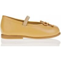 Zapatos Niña Bailarinas-manoletinas Garatti PR0048 Beige