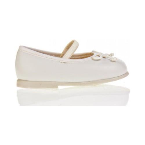 Zapatos Niña Bailarinas-manoletinas Garatti PR0048 Hueso