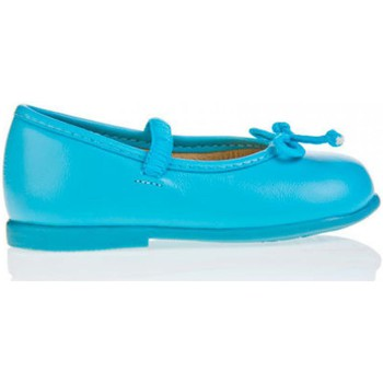 Zapatos Niña Bailarinas-manoletinas Garatti PR0048 Turquesa