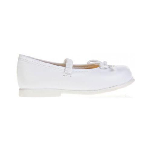 Zapatos Niña Bailarinas-manoletinas Garatti PR0048 Blanco