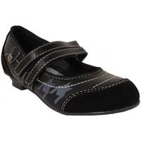 Zapatos Niña Bailarinas-manoletinas New Teen 184130-B4600 Negro