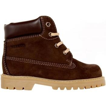 Zapatos Niños Botas de caña baja Garatti AN0075 Marrón