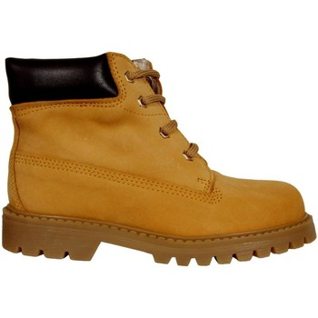 Zapatos Niños Botas de caña baja Garatti AN0075 Amarillo
