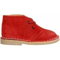 Zapatos Niños Botas de caña baja Garatti PR0054 Rojo
