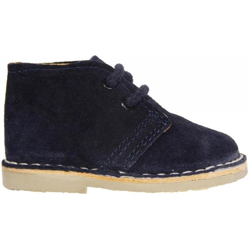 Zapatos Niños Botas de caña baja Garatti PR0054 Azul