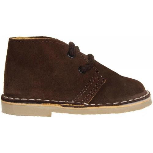 Zapatos Niños Botas de caña baja Garatti PR0054 Marr?n