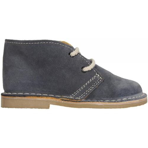 Zapatos Niños Botas de caña baja Garatti AN0073 Gris
