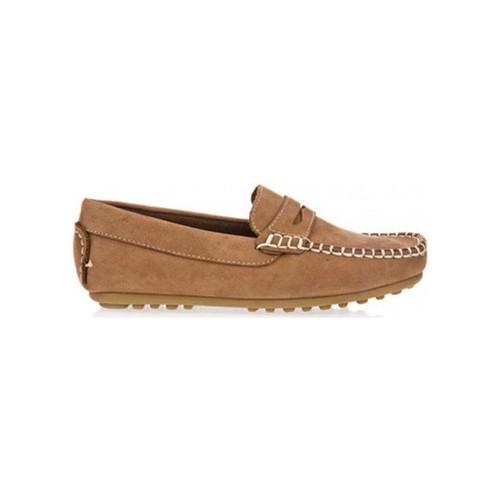 Zapatos Niño Mocasín Garatti AN0074 Beige