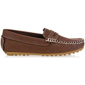 Zapatos Niño Mocasín Garatti AN0074 Marr?n