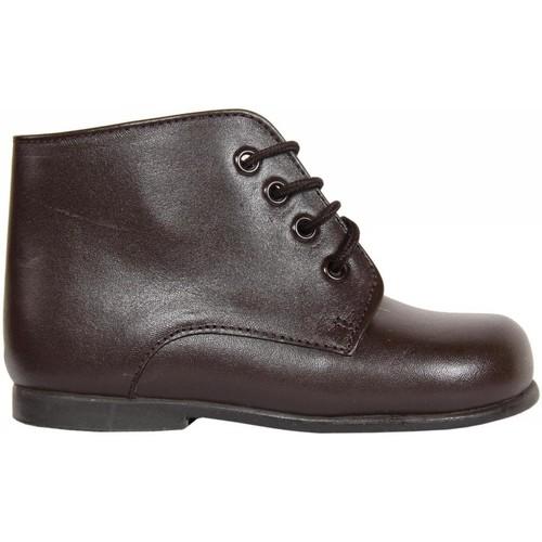 Zapatos Niños Botas de caña baja Garatti PR0052 Marr?n