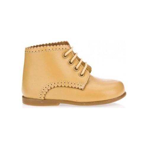 Zapatos Niña Botas de caña baja Garatti PR0053 Beige