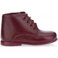 Zapatos Niña Botas de caña baja Garatti PR0053 Rojo