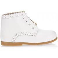 Zapatos Niña Botas de caña baja Garatti PR0053 Blanco