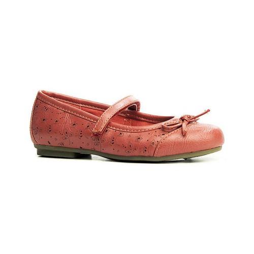 Zapatos Niña Bailarinas-manoletinas Flower Girl 144750-B4600 Rojo