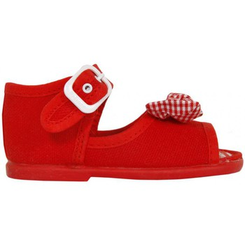 Zapatos Niña Sandalias Cotton Club CC0004 Rojo