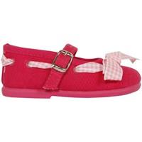 Zapatos Niña Bailarinas-manoletinas Cotton Club CC0005 Rojo